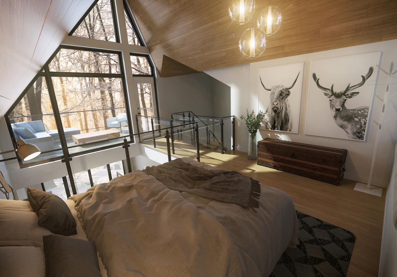 Arborescence_Bromont_room_penthouse
